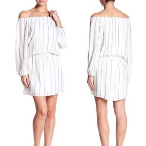 SANCTUARY Chantel Off-the-shoulder Dress Small